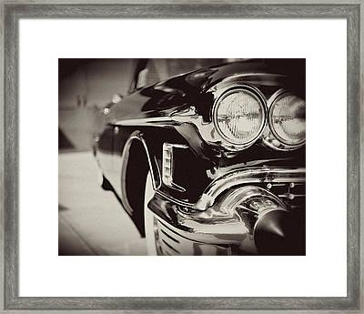 1950s Cadillac No. 1 Framed Print by Lisa Russo