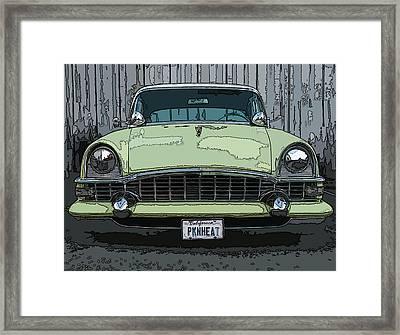1950's Packard Framed Print by Samuel Sheats