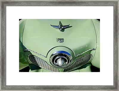 1951 Studebaker Commander Hood Ornament 2 Framed Print by Jill Reger