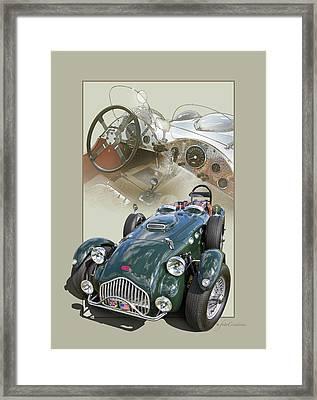 1952 Allard J2x Framed Print by Roger Beltz