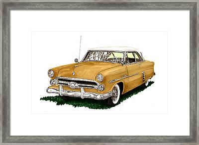 1952 Ford Victoria Framed Print by Jack Pumphrey
