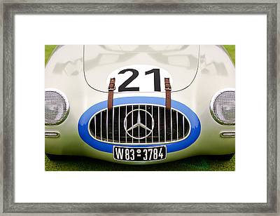1952 Mercedes-benz W194 Coupe Framed Print by Jill Reger