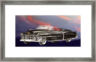 1953  Cadillac El Dorardo Convertible Framed Print by Jack Pumphrey