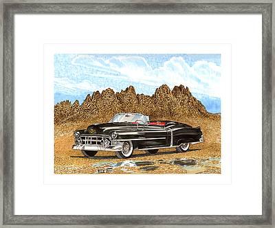 1953 Cadillac Eldorado Biarritz Framed Print by Jack Pumphrey