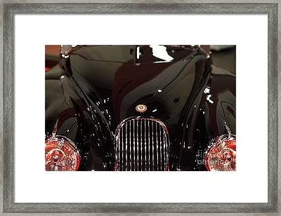 1953 Jaguar Xk 120 Se Roadster - 5d20058 Framed Print by Wingsdomain Art and Photography