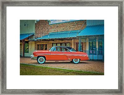 1953 Mercury Monterey Auf Deutsch Framed Print by David Morefield