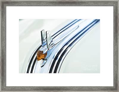 1953 Pontiac Chieftain Hood Ornament Framed Print by Tim Gainey
