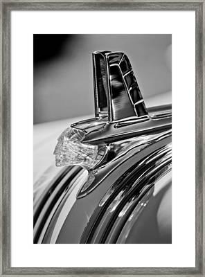 1953 Pontiac Hood Ornament 4 Framed Print by Jill Reger