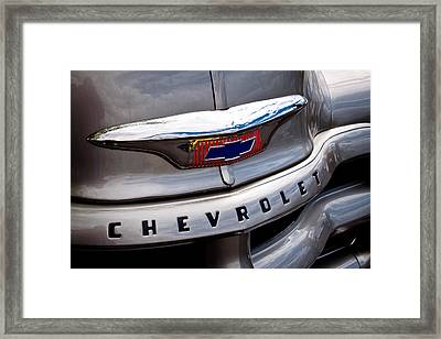 1954 Chevy Pickup 3100 Framed Print by David Patterson