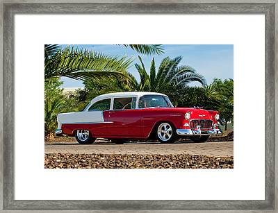 1955 Chevrolet 210 Framed Print by Jill Reger