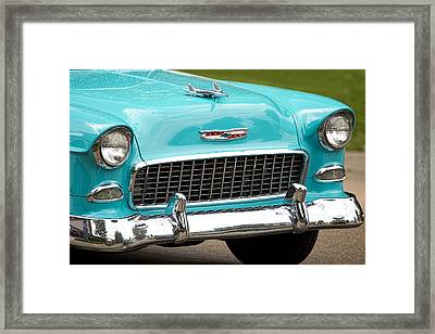 1955 Chevy Bel Air Framed Print by James BO  Insogna