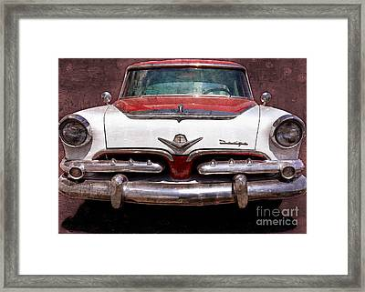 1955 Dodge In Oil Framed Print by Steve Kelley