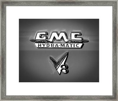 1955 Gmc Suburban Carrier Pickup Truck Framed Print by Jill Reger
