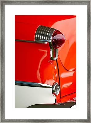 1955 Oldsmobile Taillight Framed Print by Jill Reger