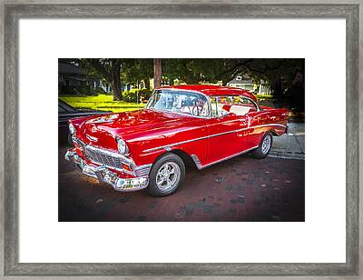 1956 Chevrolet 210 Bel Air Framed Print by Rich Franco