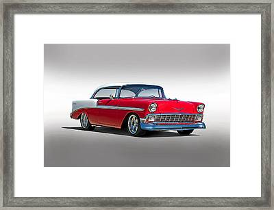 1956 Chevrolet Bel Air Studio Framed Print by Dave Koontz