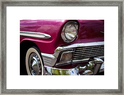1956 Chevy Bel Air Framed Print by David Patterson
