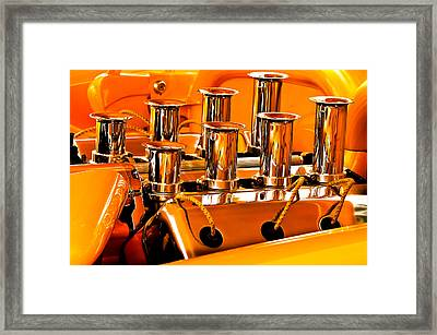 1956 Chrysler Hot Rod Framed Print by Jill Reger