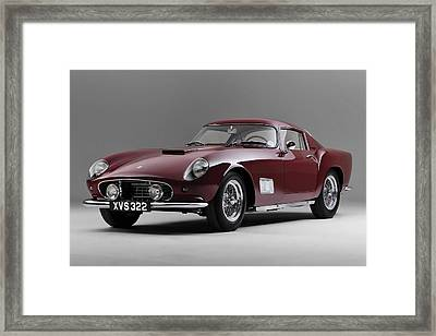 1956 Ferrari Gt 250 Tour De France Framed Print by Gianfranco Weiss