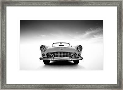 1956 Thunderbird Framed Print by Douglas Pittman