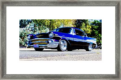 1957 Chevrolet Bel Air Framed Print by Phil 'motography' Clark