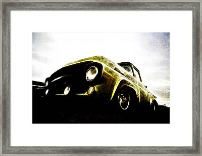 1957 Ford F100 Pickup Framed Print by motography aka Phil Clark