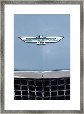 1957 Ford Thunderbird Hood Ornament 2 Framed Print by Jill Reger
