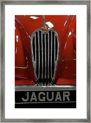 1957 Jaguar Xk 140 Mc Framed Print by Keith Gondron