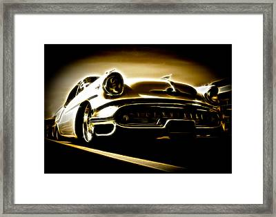 1957 Oldsmobile 88 Framed Print by Phil 'motography' Clark