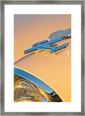 1957 Oldsmobile Hood Ornament 6 Framed Print by Jill Reger