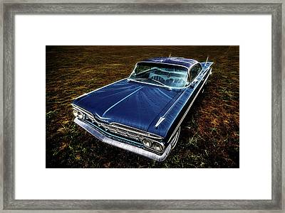 1959 Chevrolet Impala Framed Print by motography aka Phil Clark