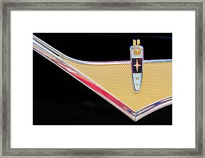 1959 Desoto Adventurer Emblem Framed Print by Jill Reger