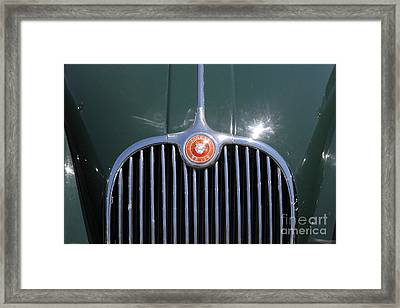 1959 Jaguar Xk150 Dhc 5d23300 Framed Print by Wingsdomain Art and Photography