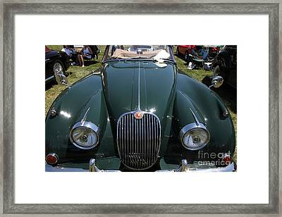 1959 Jaguar Xk150 Dhc 5d23302 Framed Print by Wingsdomain Art and Photography