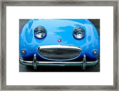 1960 Austin-healey Sprite Framed Print by Jill Reger