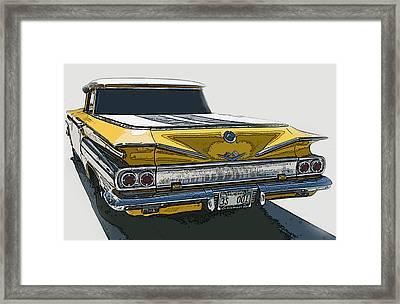 1960 Chevrolet El Camino Framed Print by Samuel Sheats