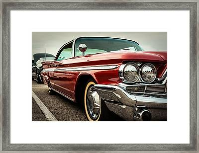 1960 Desoto Fireflite Coupe - Three Quarters Front Framed Print by Jon Woodhams