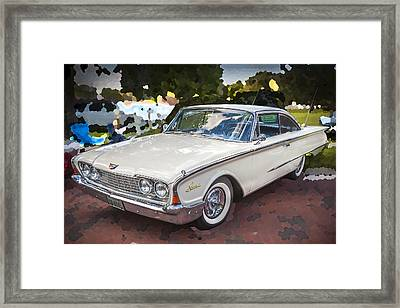 1960 Ford Starliner Framed Print by Rich Franco