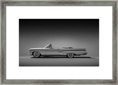 1960 Impala Convertible Coupe Framed Print by Douglas Pittman