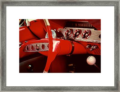 1961 Chevy Impala Ss Nomad Framed Print by David Patterson