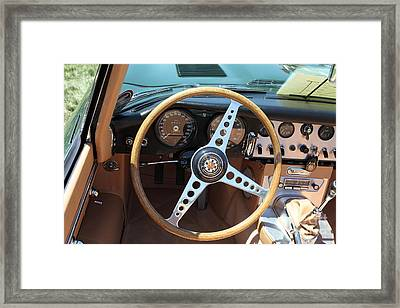 1961 Jaguar Xke Roadster 5d23325 Framed Print by Wingsdomain Art and Photography