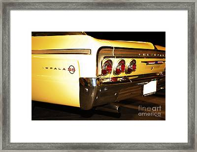 1962 Chevrolet Impala Ss Framed Print by Cheryl Young