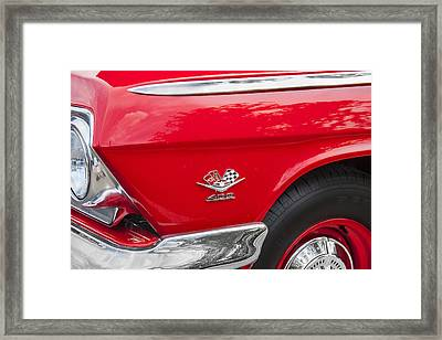1962 Chevy Impala 409 Framed Print by Rich Franco