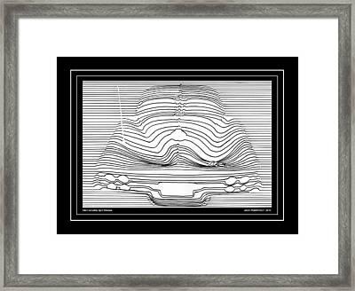 1963 Corvette Split Window Abstract Framed Print by Jack Pumphrey