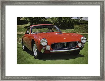 1963 Ferrari 250 Gt Lusso Framed Print by Sebastian Musial