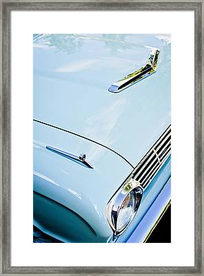 1963 Ford Falcon Futura Convertible Hood Framed Print by Jill Reger