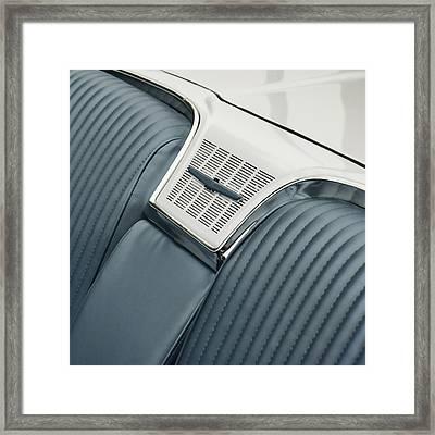 1965 Ford Thunderbird Convertible Framed Print by Carol Leigh