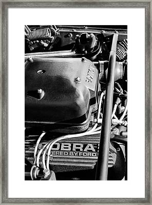 1965 Shelby Prototype Ford Mustang Paxton Framed Print by Jill Reger