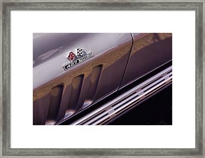 1966 Chevrolet Corvette Stingray Framed Print by Gordon Dean II