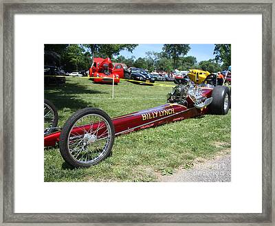 1967 Billy Lynch's Top Fuel Dragster Framed Print by John Telfer